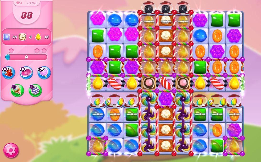 Candy Crush Saga level 6195