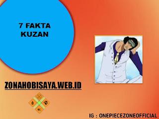 Fakta Kuzan One Piece