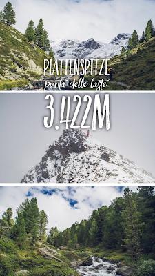 Plattenspitze – Punta delle Laste 3.422m | Bergtour-Martelltal | Wanderung-Martell | Wandern-Südtirol