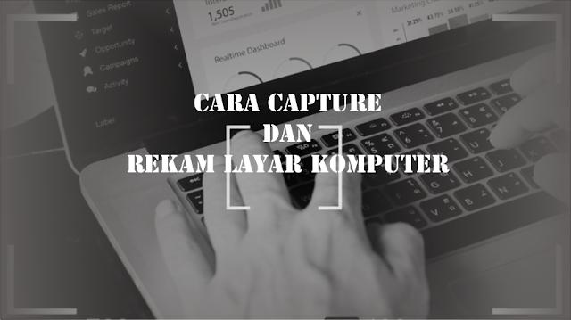Capture Plus Rekam Layar Pc dengan Mudah