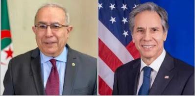 """وزير الخارجية الأمريكي أنتوني بلينكن """"يكذّب"""" نظيره الجزائري"""