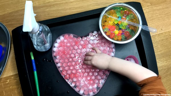 Heart Frozen Water Beads