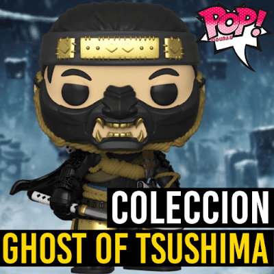 Lista de figuras Funko POP Ghost of Tsushima