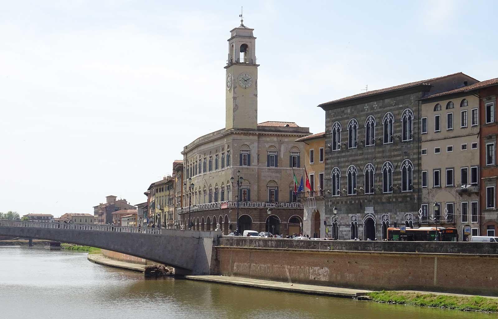 Voyage italie toscane Pise Arno