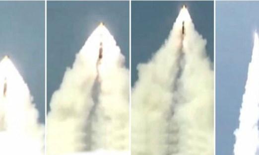 India Lakukan Uji Tembak Rudal Balistik (SLBM) K-4 Secara Rahasia