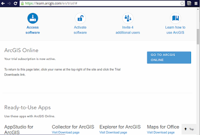 learn.arcgis.com - Go to arcgis online