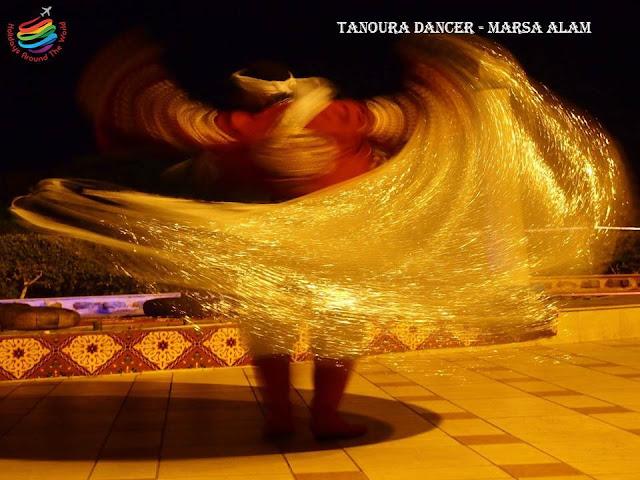Tanoura dancer - Marsa Alam