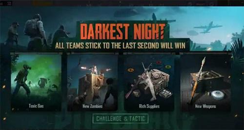 Darkest Night là 1 trong hai phiên bản zombie mà game thủ chắc là thử sức chỉ trong PUBG Mobile