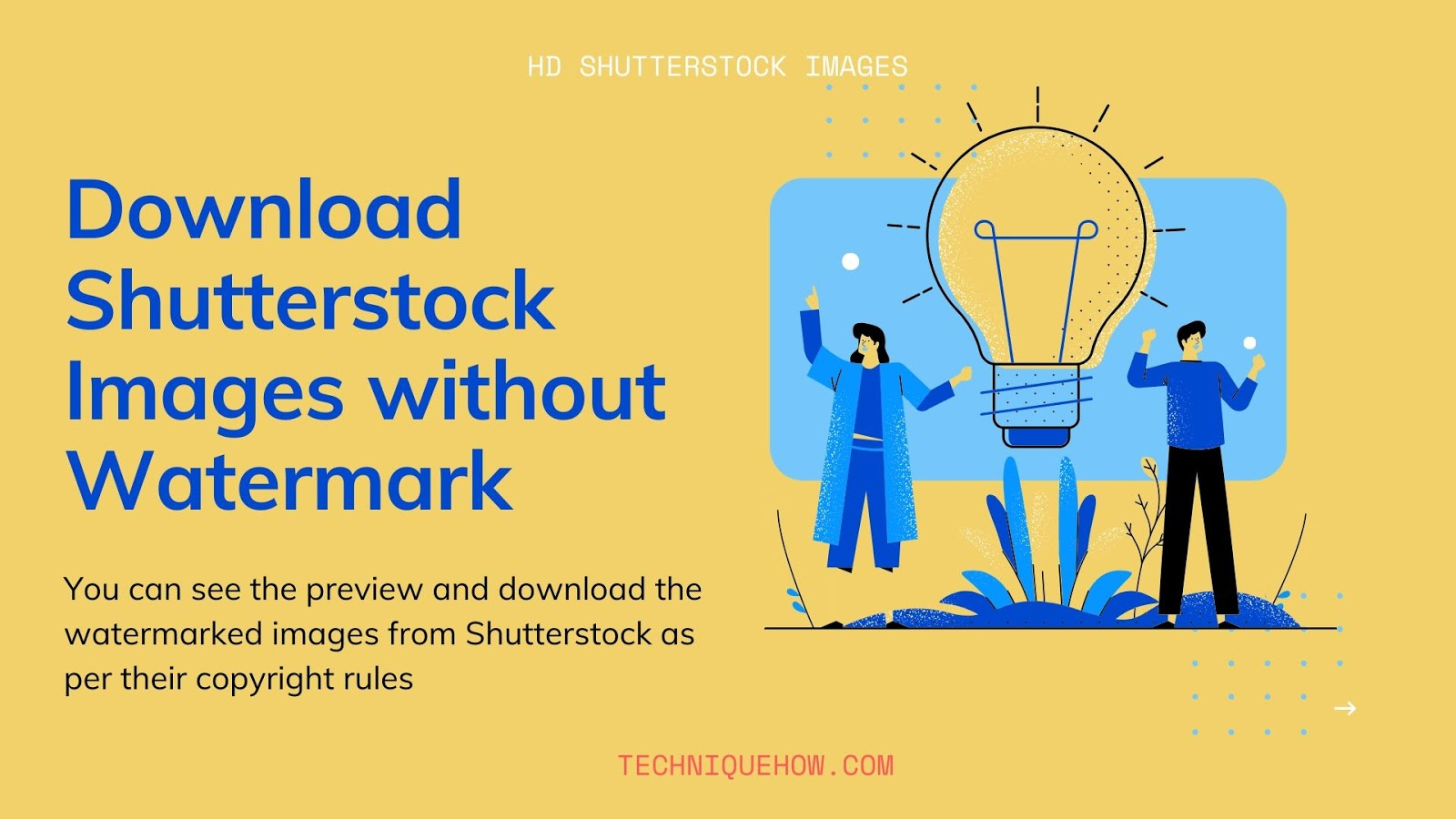 Download Shutterstock Images in HD Quality_Without Watermark