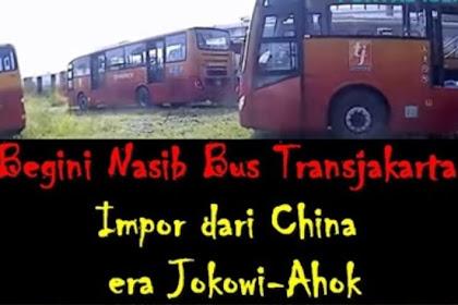 """Serang Anies Baswedan, Jokower-Ahoker Ditampol dengan """"Museum"""" Rongsokan Bus Transjakarta Impor China"""