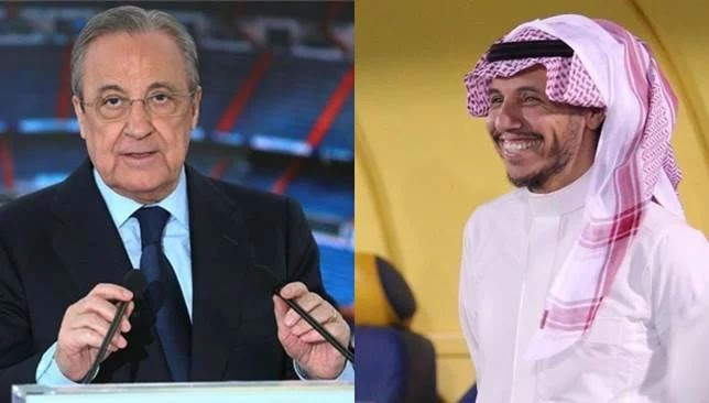 Offer and request .. The secret of the Al-Nassr management meeting with the President of Real Madrid