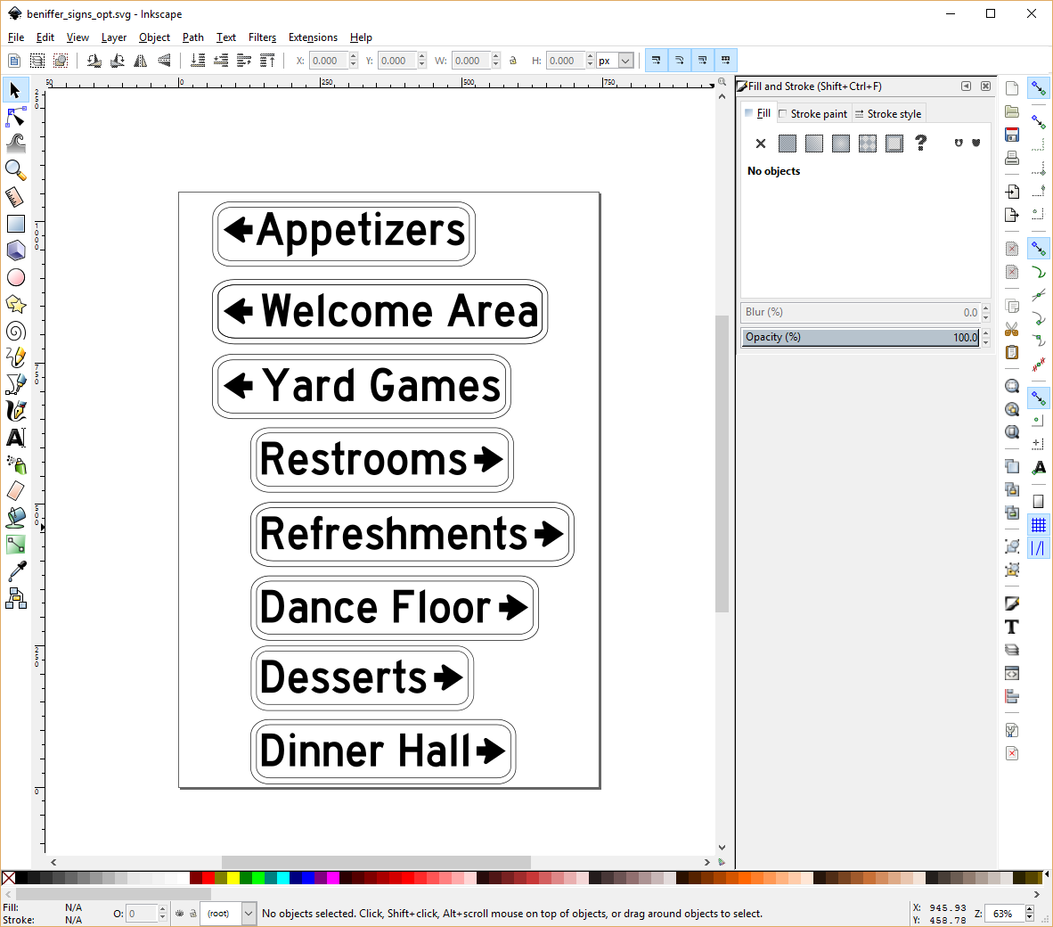 Milbot cnc programming workflow inkscape easel chilipeppr make sure you make all objects as paths or it will not import into easel baditri Choice Image
