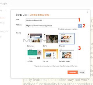 cara membuat blog / web sendiri secara gratis