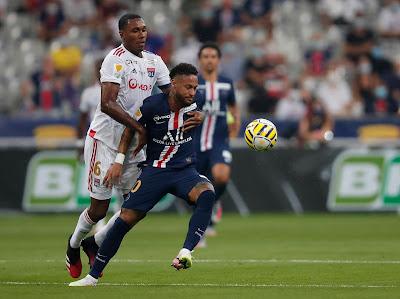 شاهد ركلات ترجيح مباراة باريس سان جيرمان وليون في نهائي كأس الرابطة الفرنسيه