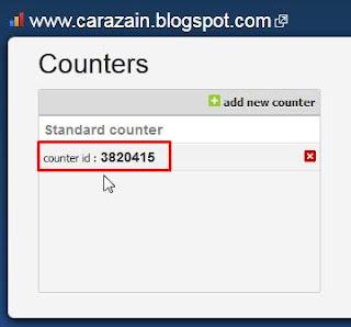 Cara Memasang Widget Histats Di Blog Gratis Daftar