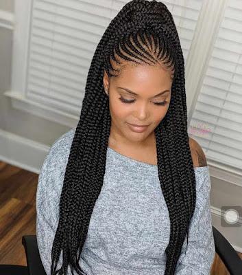 Best Ghana Weaving Hairstyles in Nigeria
