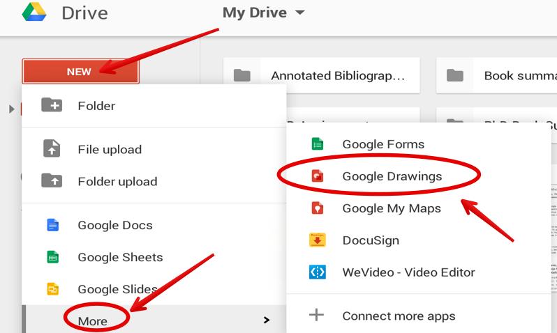 Using Google Drive Drawing App Manual Guide