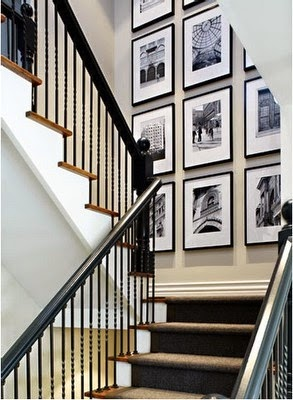 50 Creative Staircase Wall decorating ideas, art frames ... on Creative Staircase Wall Decorating Ideas  id=69435