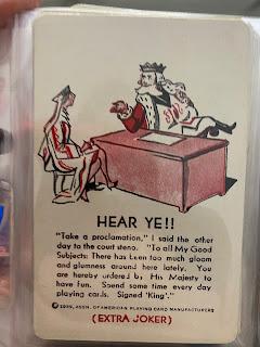 Joker: Hear Ye!! ~1939 USPCC