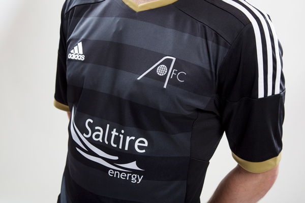 5daf8351996 Scottish Premier League team Aberdeen FC today unveiled the new Aberdeen  2014-2015 Away Jersey, which is made by Adidas and inspired by the Granite  City.
