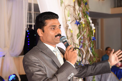 Mangalore master of ceremonies - MC Robin Vas