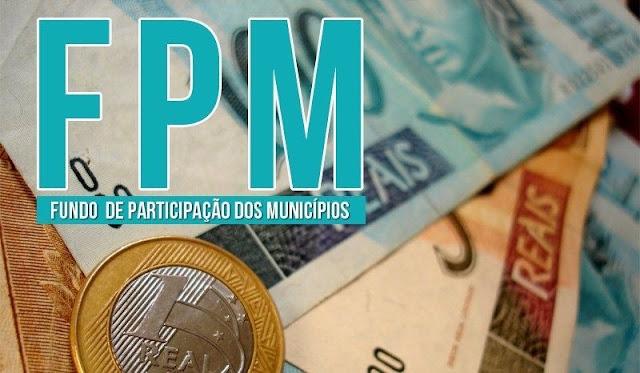 Municípios brasileiros recebem R$ 4,33 bilhões referente ao repasse extra de 1% do FPM nesta terça