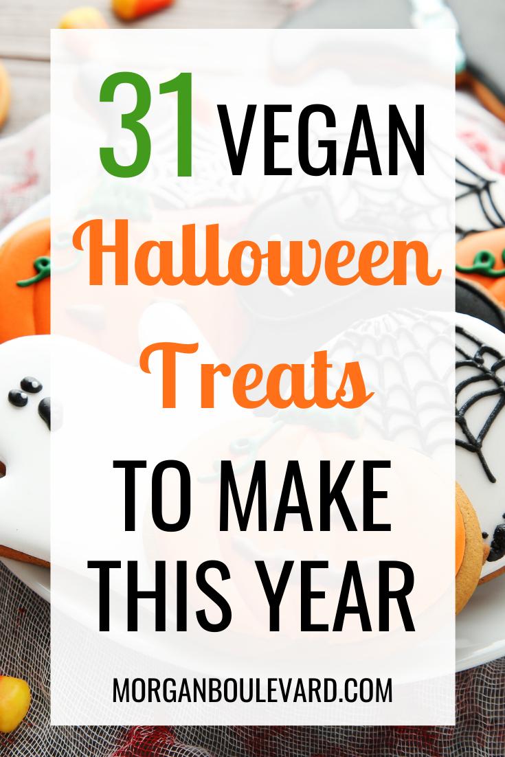 vegan halloween treats