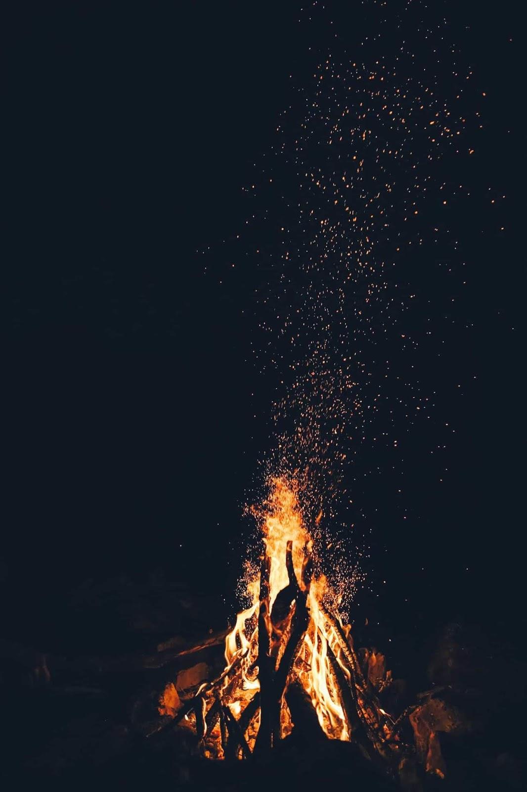 Cómo encender fuego con madera mojada