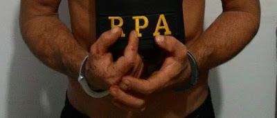 Iretama: PM recaptura fugitivo da penitenciária de Guarapuava