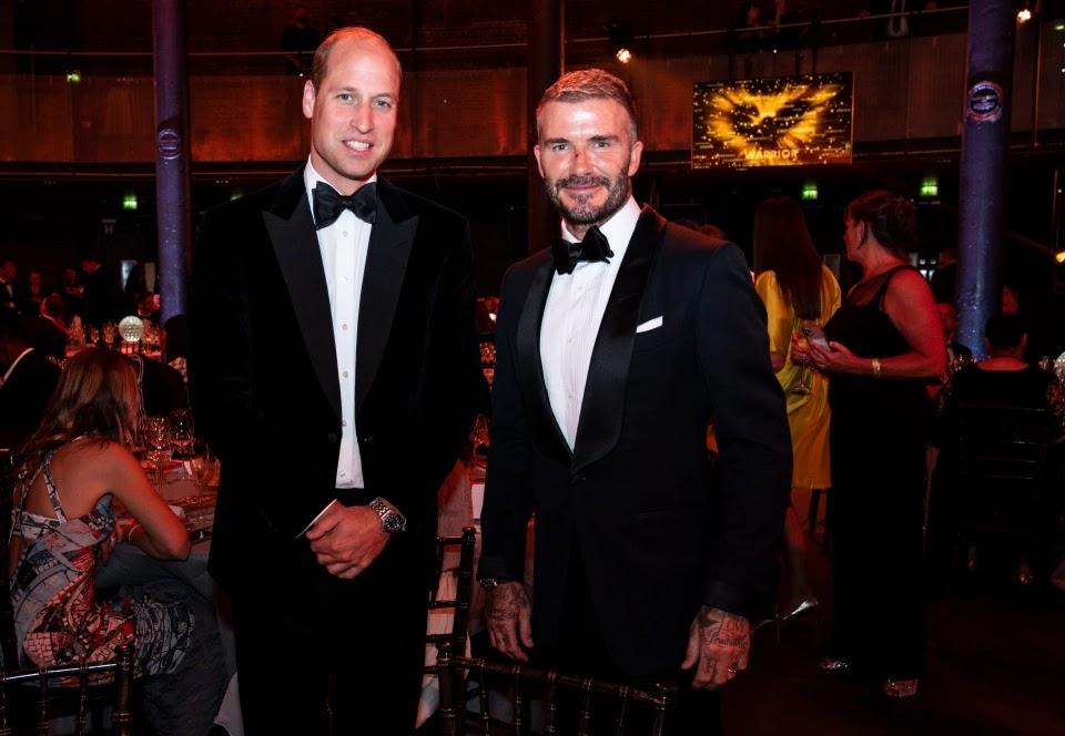 Książę William na The Who Cares Wins Awards 2021 w The Roundhouse