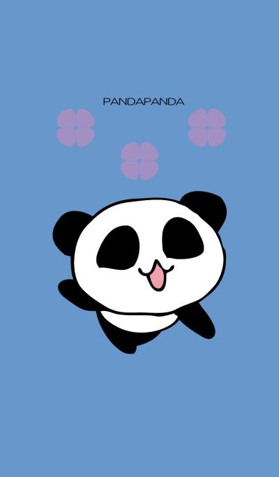 Panda panda Flower