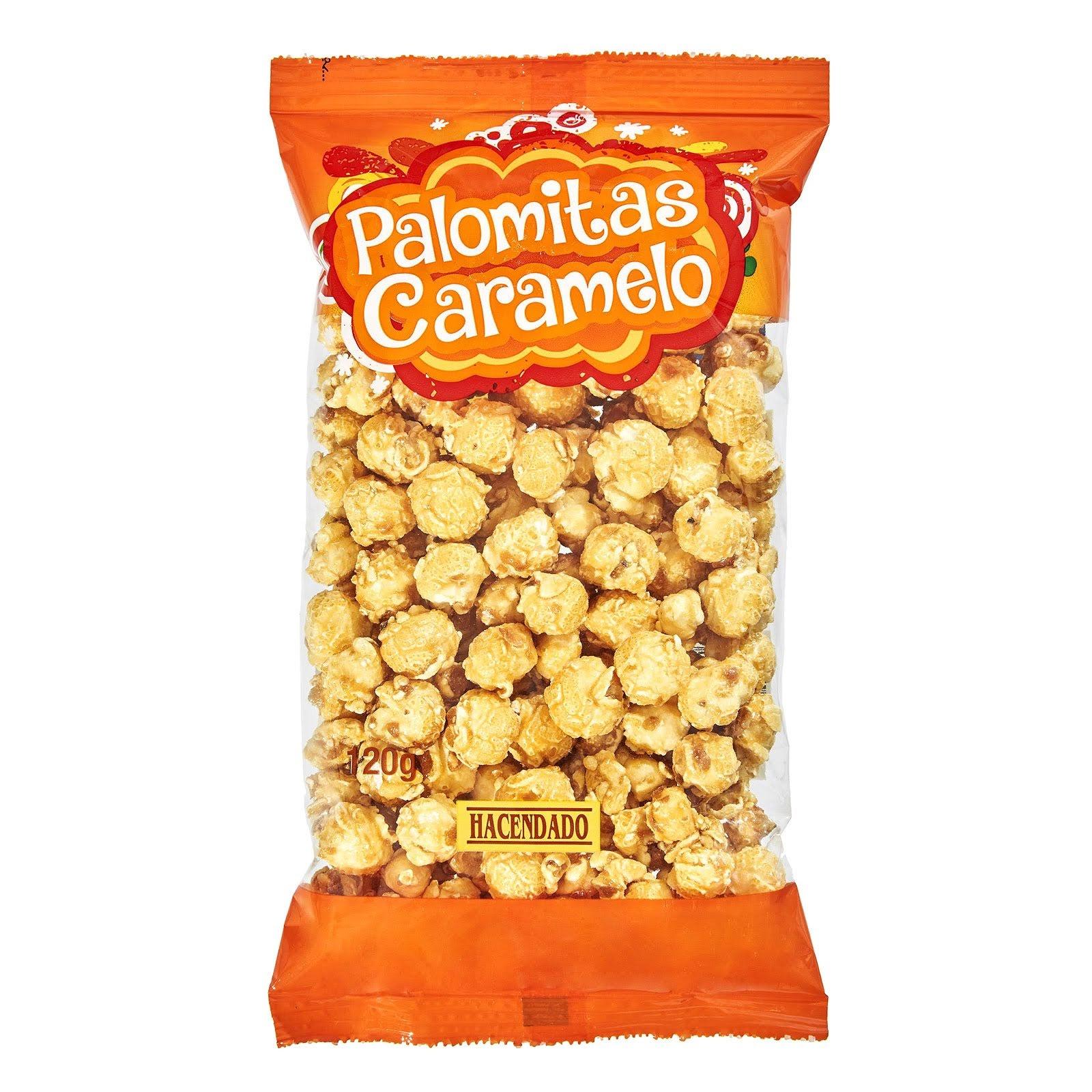 Palomitas con caramelo Hacendado