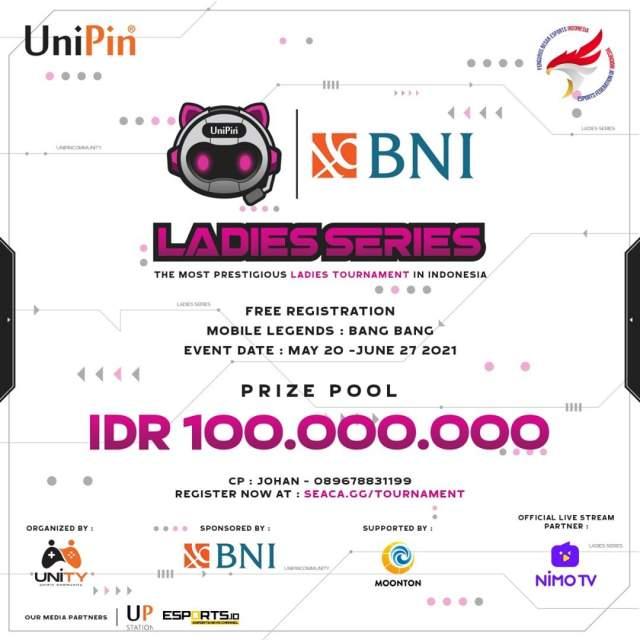 Ladies Series Mobile Legends Bang Bang 2021
