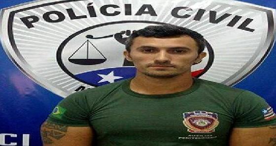 Agente penitenciário é preso acusado de facilitar entrada de celular em presídio