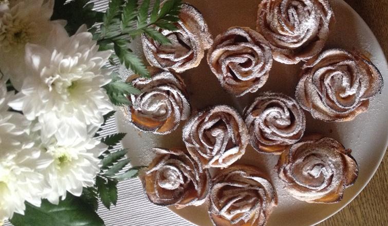 Rezept Rosenmuffins bzw. Rosen Cupcakes