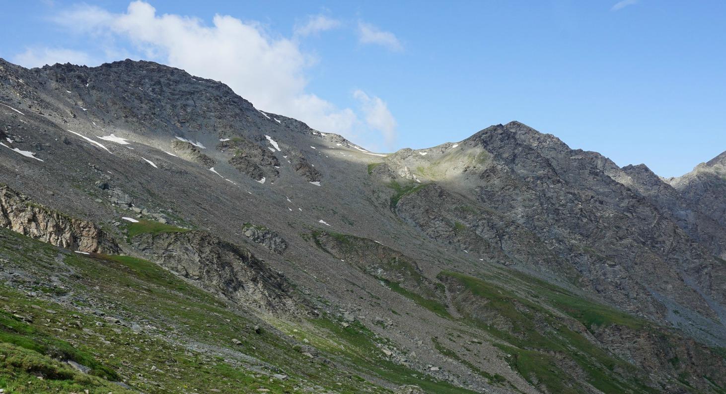 Pic de Caramantran and Col de Chamoussière