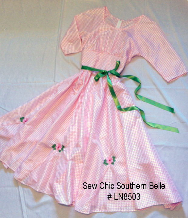 c40288c2cb9 Sew Chic Pattern Company  Sewing Detail  Sew Chic Southern Belle LN8503
