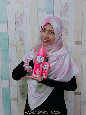 SAFI Shayla, shampoo wanita bertudung,Hijab Pakar Penjagaan Rambut, tips elak rambut berbau, safi supa wangi,  Giveaway Supa Pink Vespa