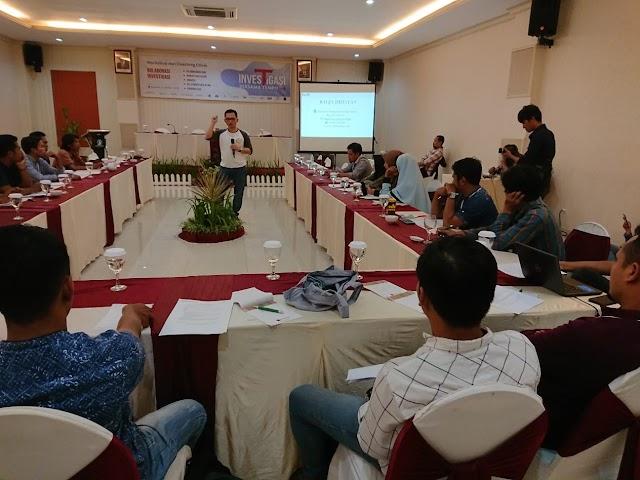 Tempo Institute dan AJI Mataram Perkuat Kapasitas Jurnalis Melalui Workshop Investigasi