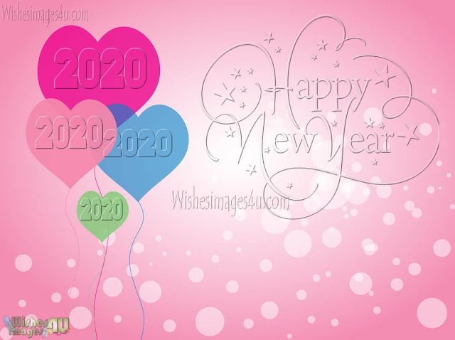 Happy New Year 2020 Romantic HD Love Wallpapers