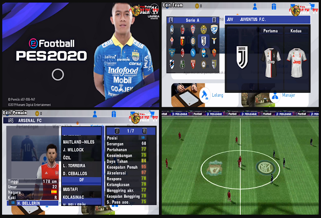 Download PES 2020 PPSSPP Jogress V4.1.2 Mod E Football