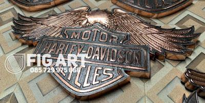 Logo Harley Davidson Burung Tembaga