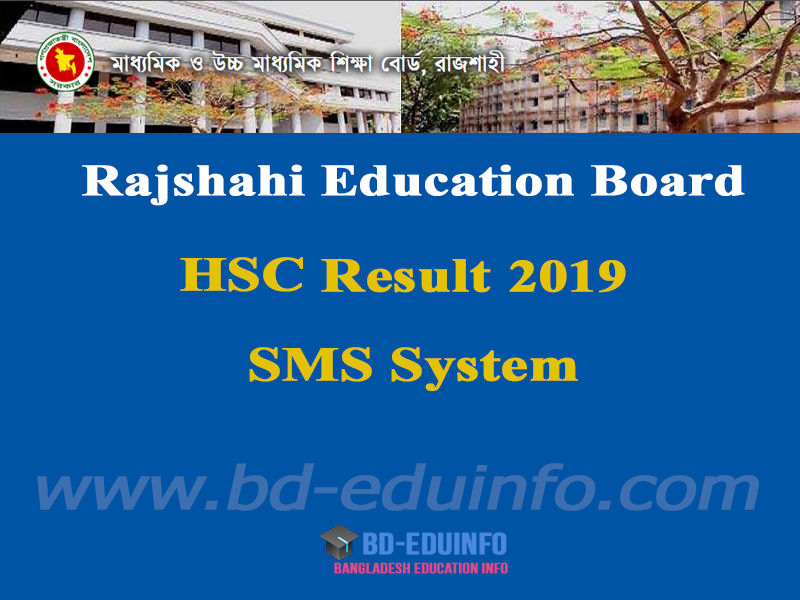 Rajshai Board HSC Exam Result 2019