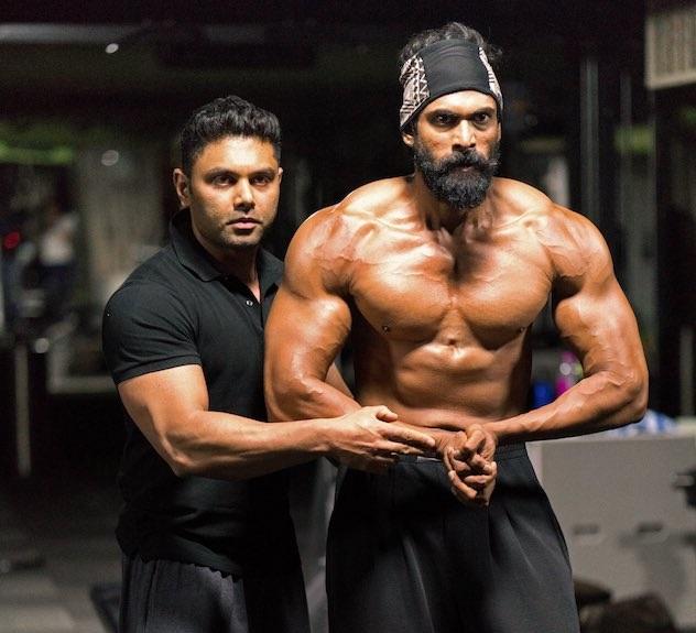 Rana Daggubati Workout and Diet Plan for Baahubali 2