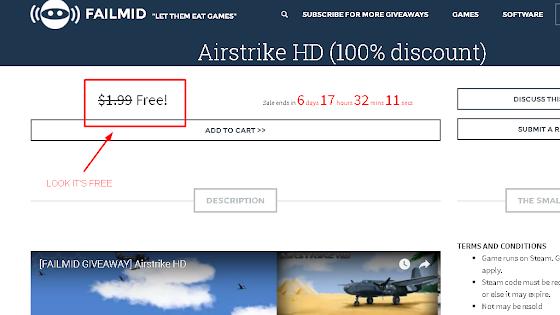 Airstrike HD 100% Discount