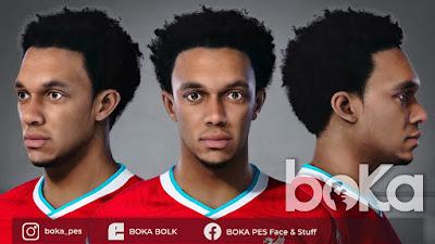 PES 2021 Faces Trent-Alexander Arnold by Boka