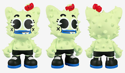 Nopalito Glow in the Dark Edition SuperJanky Vinyl Figure by El Grand Chamaco x Superplastic