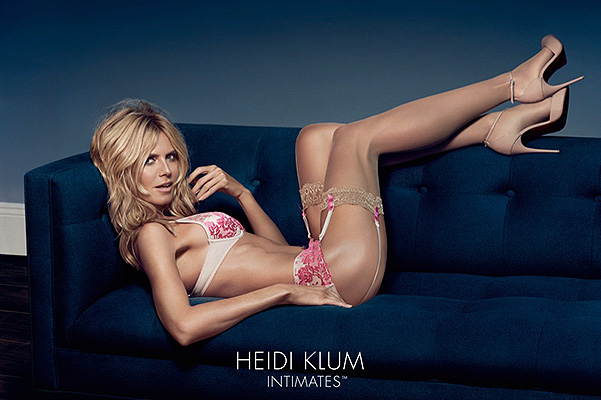 Heidi Klum of underwear  intimates