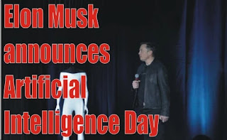 Elon Musk announces Artificial Intelligence Day