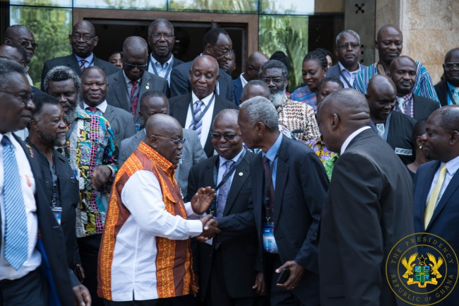President Akufo-Addo Outlines Gov'ts Pillars Of Growth For Science And Technology